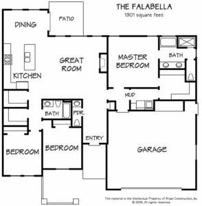 Floor Plan - The Falabella