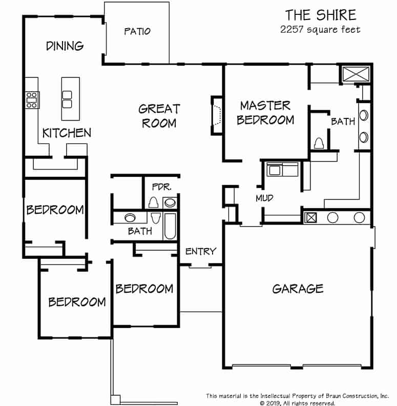 Floor Plan - The Shire